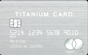 かっこいい ラグジュアリーカードチタニウム券面