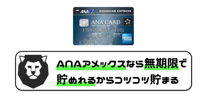 クレジットカード マイル ANAアメックス