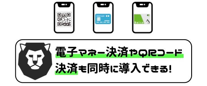 クレジットカード 手数料 比較 QRコード 電子マネー決済