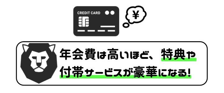 個人事業主 クレジットカード 年会費