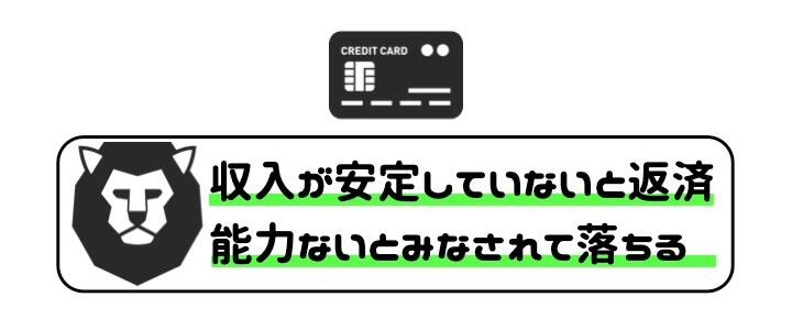 審査 通りやすい クレジットカード 借金 返済能力