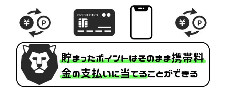 携帯料金 クレジットカード ポイント 支払い