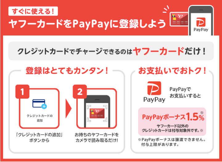 ヤフーカード 口コミ 評判  PayPay