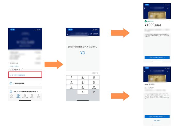 クレジットカード 限度額 年収 アメックス 限度額 確認方法