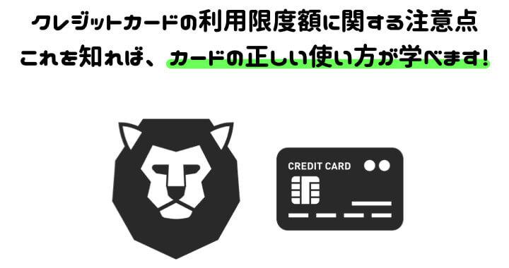 クレジットカード 限度額 年収 注意点